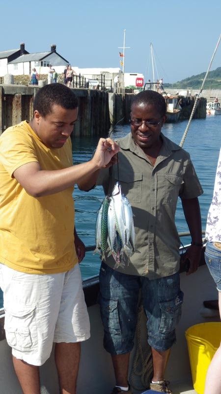 Lyme Regis Mackerel Fishing